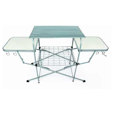 9. Camco Deluxe Folding Grill Table