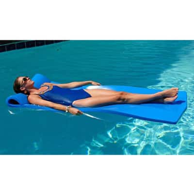 4. California Sun Deluxe Over-Sized Unsinkable Foam Cushion Pool Float
