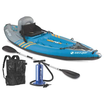 3. Sevylor Quikpak K1 1-Person Kayak