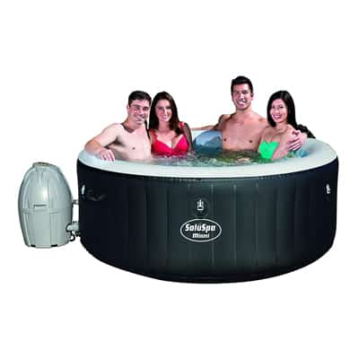 11. SaluSpa Miami AirJet Inflatable Hot Tub