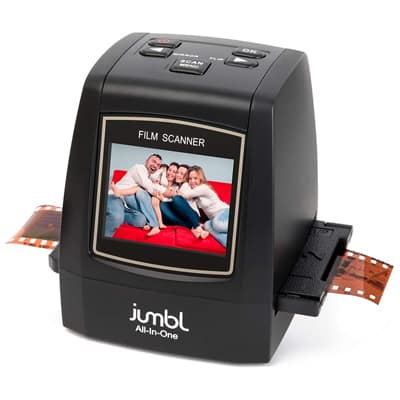 8. Jumbl 22 MP All-in-1 Film & Slide Scanner