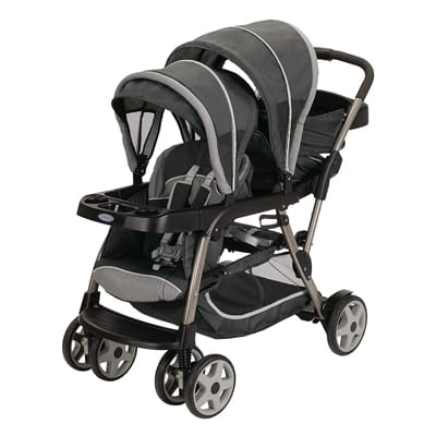 4. Graco Ready2grow Click-Connect LX Stroller, Glacier 2015