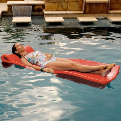 1. Texas Recreation Foam Pool Floating Mattress