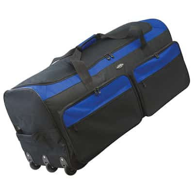 4. Travelers Club Triple Wheeled Rolling Duffel