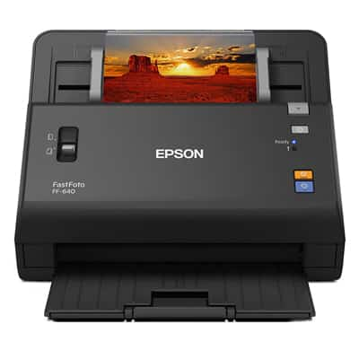 3. Epson FastFoto FF-640 Hi-Speed Photo Scanning System with Automatic Photo-Feeder