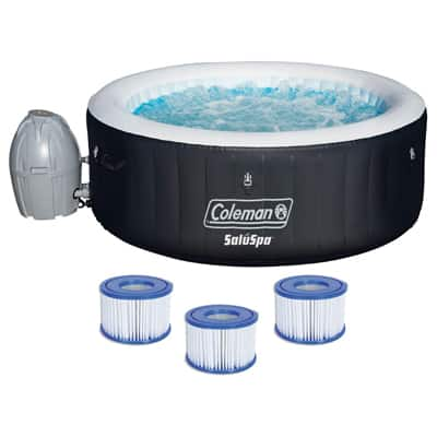 5. Coleman Inflatable Spa 4-Person Hot Tub
