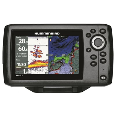 5. Humminbird 410210-1 Helix 5-Chirp GPS G2 Fish Finder