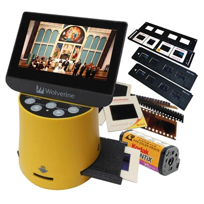 6. Wolverine Titan 8-in-1 High-Resolution Film to Digital Converter