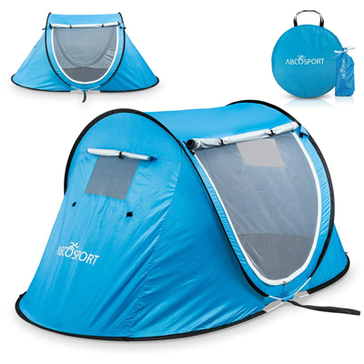 1. Abco Tech Pop-up Tent an Automatic Instant Portable Cabana Beach Tent