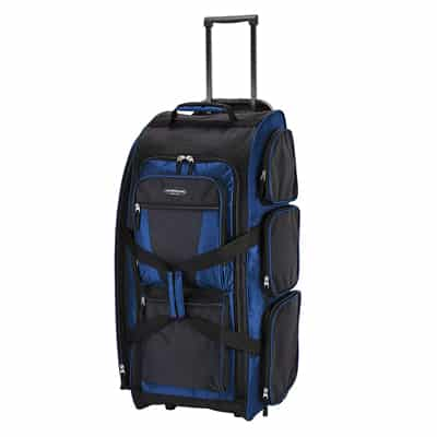 3. Travelers Club Luggage Rolling duffle