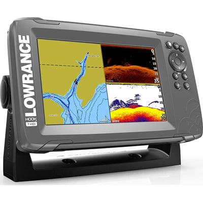 1. Lowrance HOOK2 7 - 7-inch Fish Finder