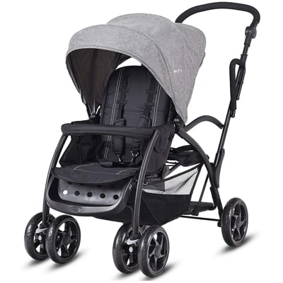 5. BABY JOY Stand and Ride Stroller