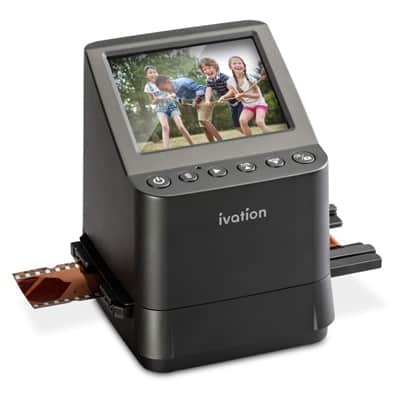 3. Ivation High-Resolution 23MP Film Scanner