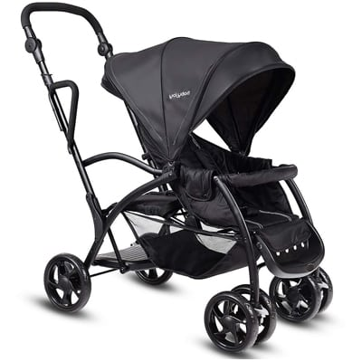 10. HONEY JOY Stand and Ride Stroller