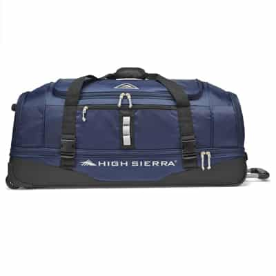 14. High Sierra Pathway Wheeled Drop-Bottom Duffel