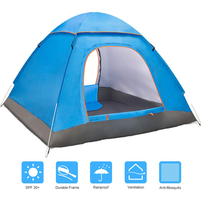 6. Amagoing Tents for Camping Automatic Pop Up Waterproof Tent-2-3 Person