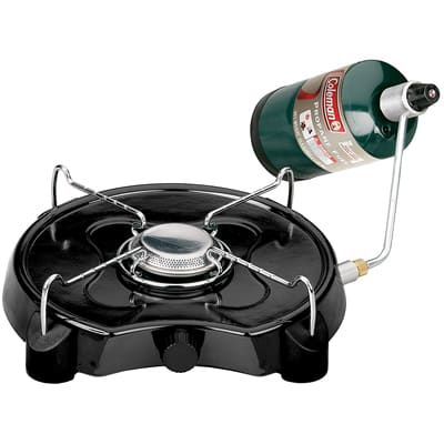 1. Coleman Power Pack, Single Burner Propane Stove