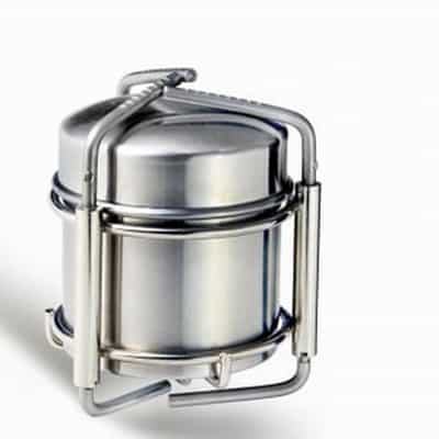 4. Out-d Stainless Steel Alcohol Stove Camping Stove