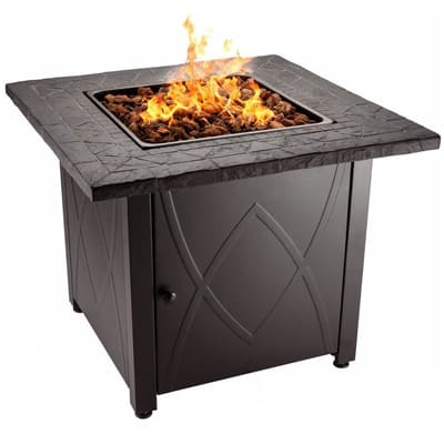 2. Blue Rhino Outdoor Propane Gas Fire Pit