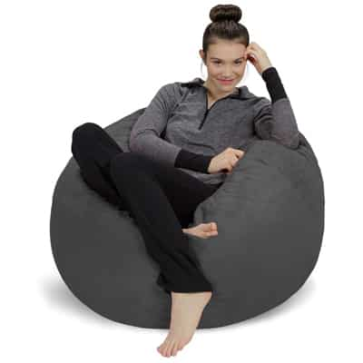 13. Sofa Sack - Plush, Ultra Soft Memory Foam Bean Bag Chair