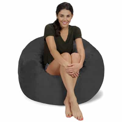 8. Chill Sack Memory Foam Furniture Bean Bag