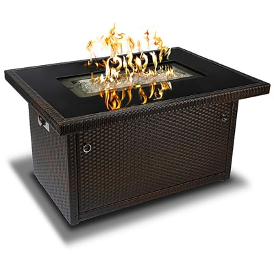 1.    Outland Living Series 401 Brown 44-Inch Gas Fire Pit Table
