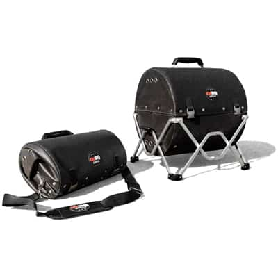 9. GoBQ Portable Charcoal Grill