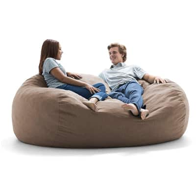 6. Big Joe Lux Bean Bag Chair