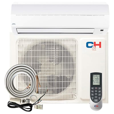 2. COOPER AND HUNTER Alice Mini Split Ductless Air Conditioner Heat Pump