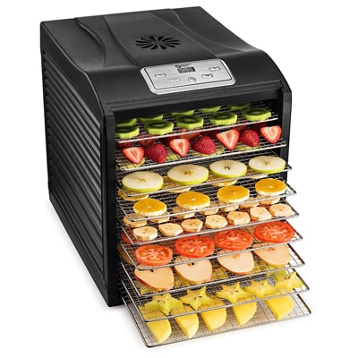 10. Magic Mill Food Dehydrator Machine - Easy Setup
