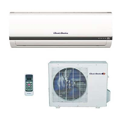 5. Classic America Ductless Wall Mount Mini Split Inverter Air Conditioner