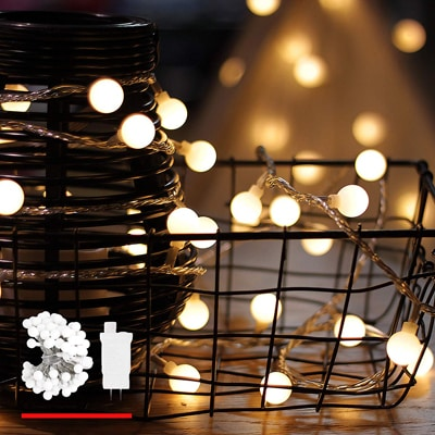 2. LED String Lights, by myCozyLite