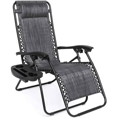 1. Best Choice Products Zero0-Gravity Lounge Chair