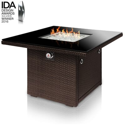 10. Outland Living Series 410 36-Inch Outdoor Propane Gas Fire Pit Table