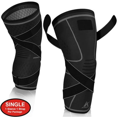7. Athledict Knee Brace Compression Sleeve