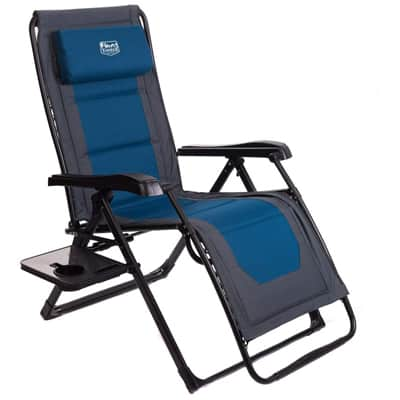 3. Timber Ridge Zero Gravity Locking Lounge Chair