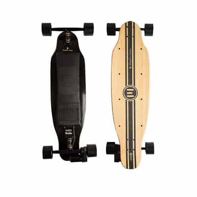 9. Evolve Skateboards Bamboo ONE Electric Long-board Skateboard