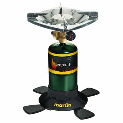 4. Martin Portable Outdoor Single Burner-10000BTU