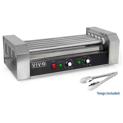 7. VIVO Electric 12 Hot Dog Roller