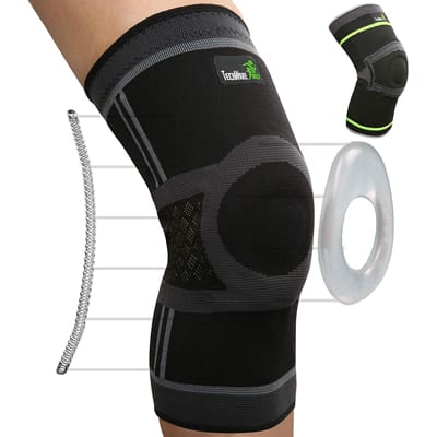 11. TechWare Pro Knee Compression Sleeve