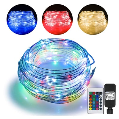 3. Omika 66ft Led Rope Lights Outdoor String Lights