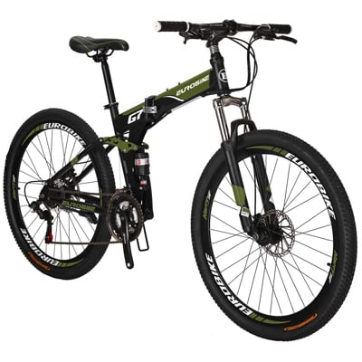 2. Eurobike Folding Bike TSM G7 Bicycle