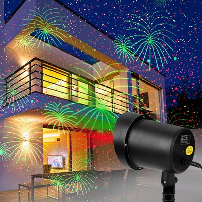 12. WSTECHCO Laser Christmas Lights