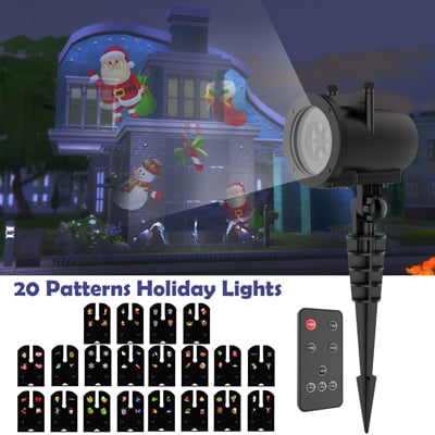 5. AVImerchandise Christmas Projector Lights