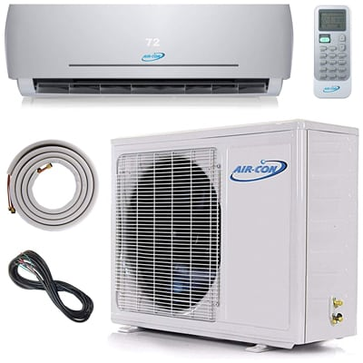 7. Air-Con Int. Mini Split Ductless Air Conditioner