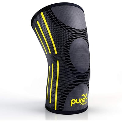 8. Pure Support Knee Brace Compression Sleeve