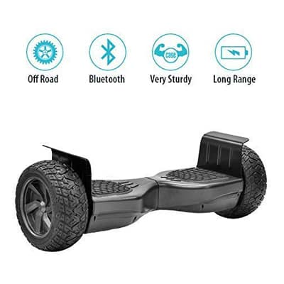 7. TPS All-Terrain Off-Road Rugged Hoverboard - 8.5