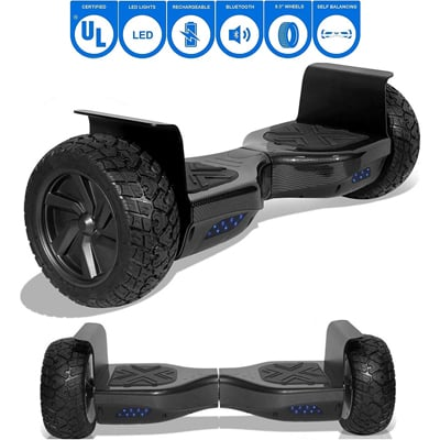 10. NHT - All Terrain Rugged Wheels Off-Road Hoverboard-8.5