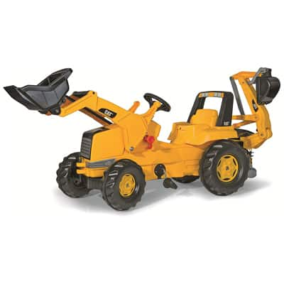 9. Rolly toys CAT Construction Pedal Tractor