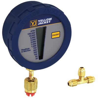 7. Yellow Jacket Vacuum Gauge